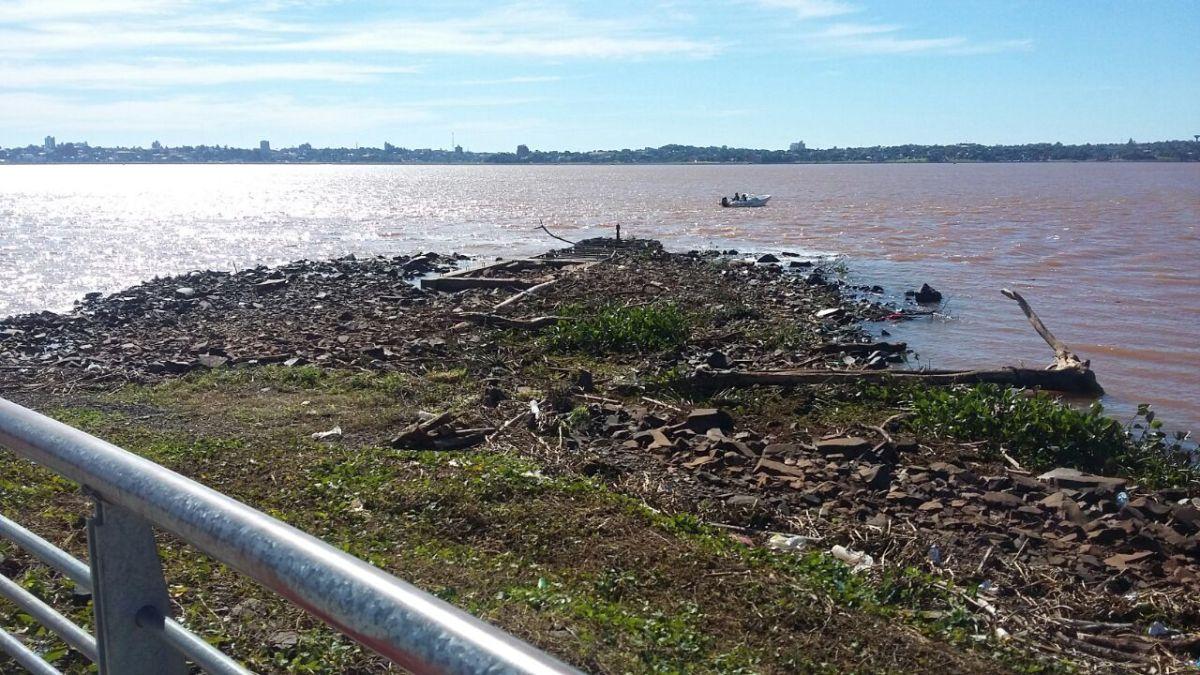 Bajante histórica del río Paraná: la escasez de precipitaciones también afectó los niveles de los ríos Uruguay e Iguazú - MisionesOnline